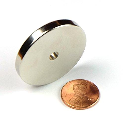 2pcs N52 - 38mm x 5mm Hole 5mm 1.5