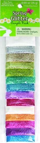 Sulyn Glitter Sample 14-Pack, Spring