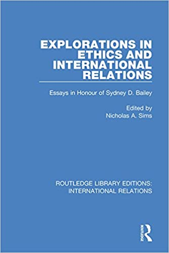 Explorations In Ethics And International Relations Essays In Honour  Explorations In Ethics And International Relations Essays In Honour Of  Sydney Bailey Routledge Library Editions International Relations St  Edition  High School Dropouts Essay also Sample Proposal Essay  Essay With Thesis Statement