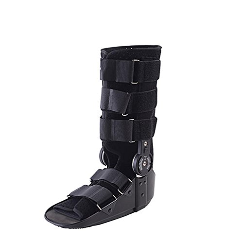 Price comparison product image Ankle Joint Fixed Bracket - Ideal For Stable Foot And Ankle Fracture,  Achilles Tendon Surgery,  Acute Ankle Sprains,  Post Op Care Inflatable Built-Air Bag Rehabilitation Training Brace ,  left ,  L