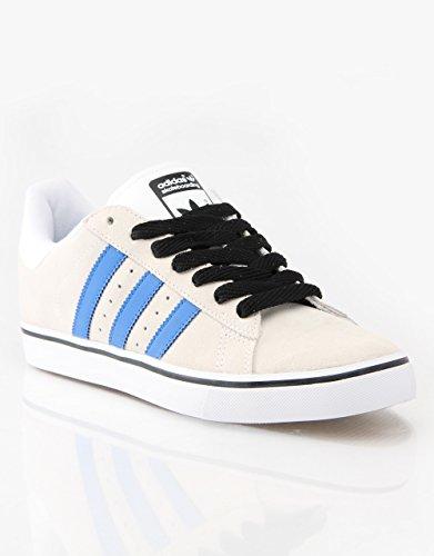 Adidas Campus Pro Vulc - Bianco / Bluebird / Nero Sz 5
