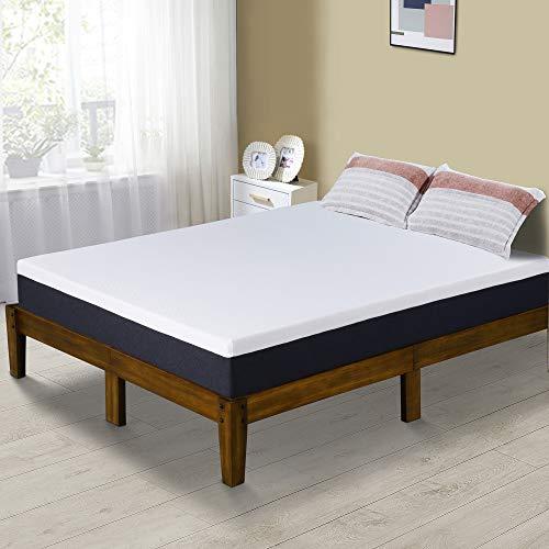 PrimaSleep Modern 10 Inch Air Flow Gel Memory Foam Comfort Bed Mattress Queen (Air Mattress Queen Memory Foam)