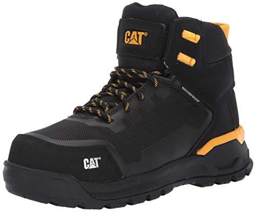 Caterpillar Women's Propulsion Waterproof CT Construction Boot Black 8 W US