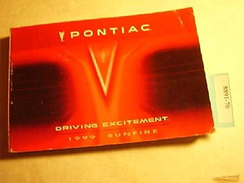 1999 pontiac sunfire owners manual guide book pontiac amazon com rh amazon com Custom Sunfire 1998 Pontiac Sunfire