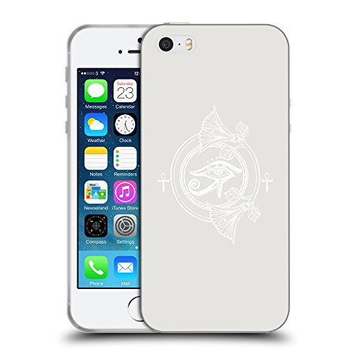 GoGoMobile Coque de Protection TPU Silicone Case pour // Q09850631 Religion 25 Platine // Apple iPhone 5 5S 5G SE