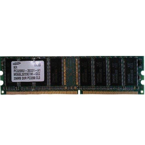 M368l3223etm-Ccc Samsung 256Mb Ddr 400Mhz Pc-3200 184-Pin Non-Ecc Dim