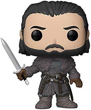Oferta amazon: Funko Pop! - Jon Snow (Beyond The Wall) Figura de Vinilo 29166