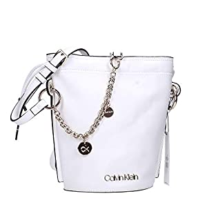 Calvin Klein Women's Chained Sml Bucket Shoulder Bag
