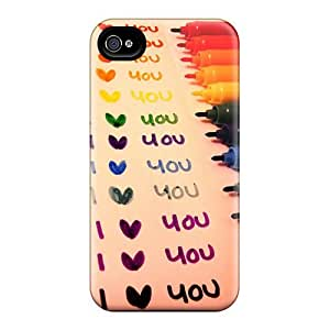 Fashionable Style Cases Covers Skin For Case HTC One M7 Cover - I Love You