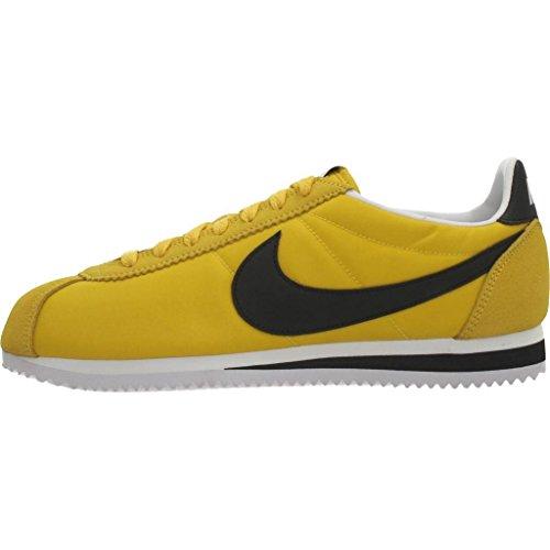 Low Gelb Cortez Nike Schwarz Mens Sneaker Nylon Classic Gelb qaxpUxw0