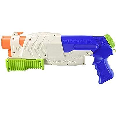 Nerf Super Soaker Scatterblast Blaster: Toys & Games