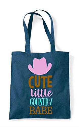 Bag Petrol Country Shopper Little Tote Cute Babe YIAgWq