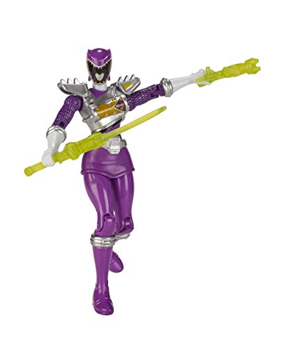 Power Rangers Dino Super Charge - 5 Dino Drive Purple Ranger Action Figure