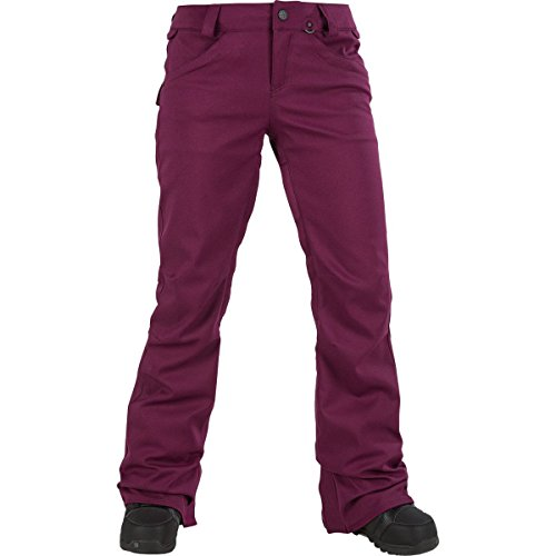 Volcom Junior's Species Stretch 2 Layer Shell Snow Pant, Winter Orchid, Large by Volcom