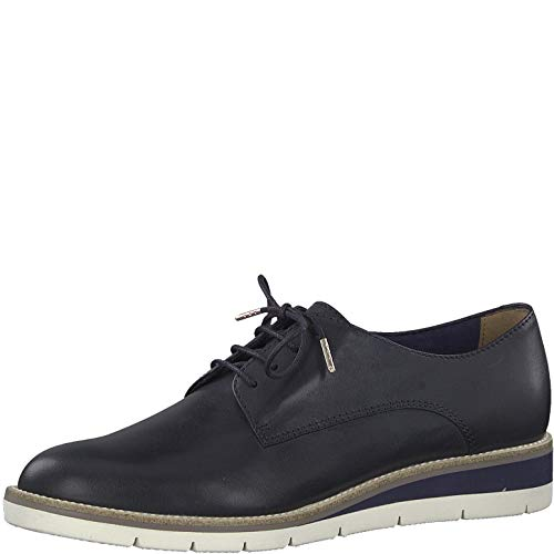 Navy Con sportivo 1 Lea 23202 Calzado Mujer 22 scarpe scarpe sneaker scarpe touch plain elegante Casuale scarpe 1 Stringate it Da Strada Tamaris Deportivo Lacci scarpe fwgzg