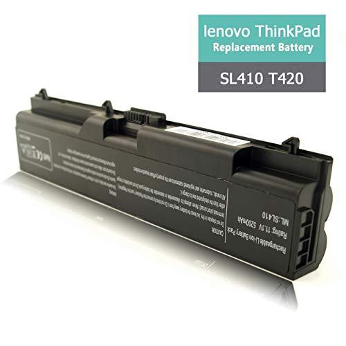 New SL410 Laptop Battery for Lenovo ThinkPad/IBM E40 T420 L410 T410 L412 L420 E50 W520 E525 L510 L520 Sl510 T510 T520 W510,Fit P/N FRU 42T4751 ASM 42T4752 42T4751 42T4791 51J0499 42T4235 (Computer Thinkpad Sl510)