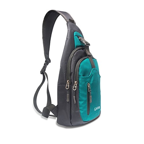 CARQI Sling Bag Waterproof Shoulder Backpack Crossbody Purse for Hiking Camping Men and Women