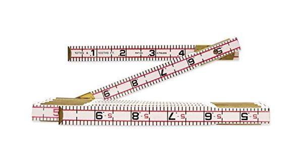 Lufkin 656 1,8 m Regla grande de madera para ladrillos