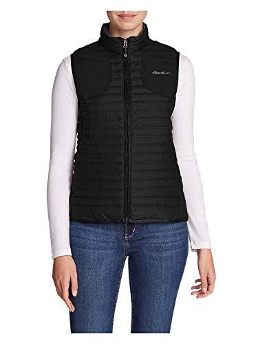- Eddie Bauer Women's MicroTherm 2.0 Down Field Vest, Black Regular S