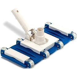 Swimline Weighted Flex Vacuum Head, Blue