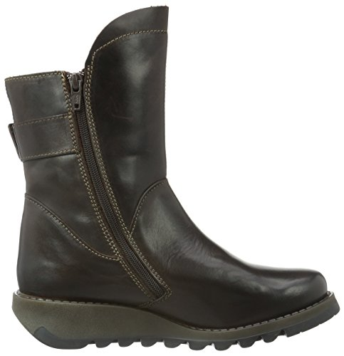 Fly London Sien - Botas Cortas Para Mujer Marrón (Dk.brown 004)