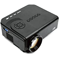 Chiefmax M3 LED Mini Projector - LCD TFT Digital Projector for Home Cinema Theater, VGA HDMI AV