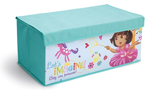 Delta Dora - Delta Children Fabric Toy Box, Nick Jr. Dora The Explorer