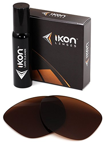Polarized Ikon Replacement Lenses for Oakley Frogskins LX Sunglasses - - Oakley Frogskins Brown