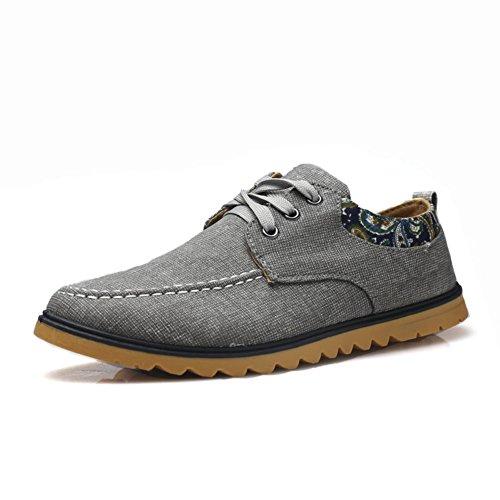 Sencillo y cómodo zapato parpadea en comienzo del verano/zapatillas de deporte casuales antideslizantes gris