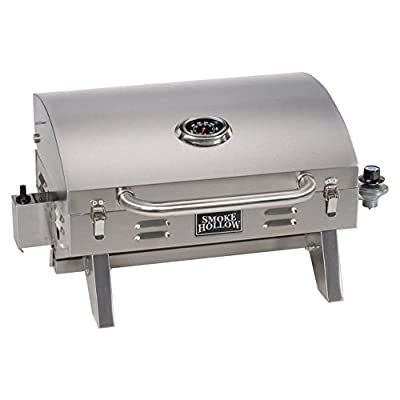 Smoke Hollow Stainless Steel Table Top Grill