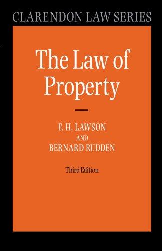 Law of Property (Clarendon Law Series) (Shops Clarendon)