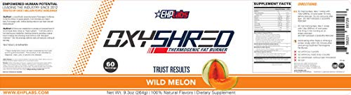 EHPlabs OxyShred Thermogenic Fat Burner Boost Metabolism