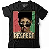 Vintage Retro Respect Aretha Queen Of Soul 80s Diva Customized Handmade T-Shirt Hoodie/Long Sleeve/Tank Top/Sweatshirt