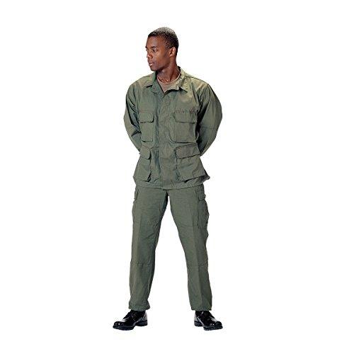 Rothco BDU Uniform Set - Olive Drab - SML