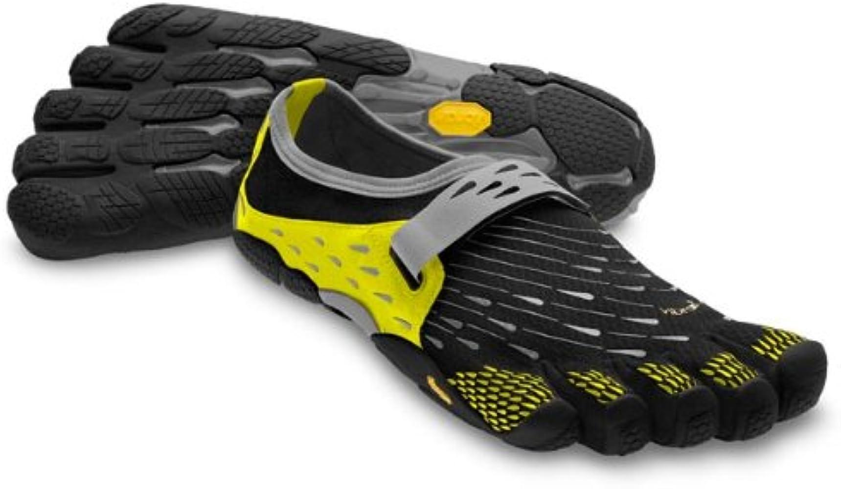 cd1e67c6fc790 Men's M Seeya Black/Yellow Mesh Running-Shoes EU 41 / UK 07 7.5 D(M) US