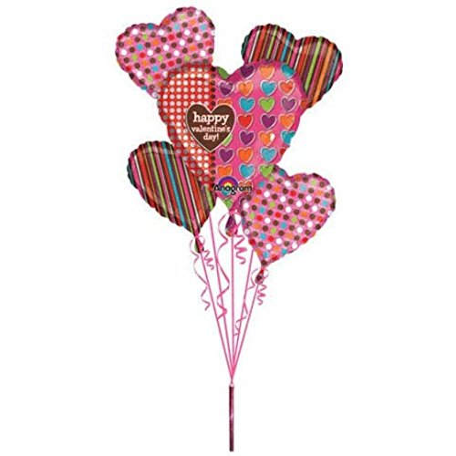 Heart Foil Balloon Bouquet 18