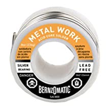 BernzOmatic SAC800 8 oz. Lead Free, Acid Flux Core Solder by Bernzomatic Corp