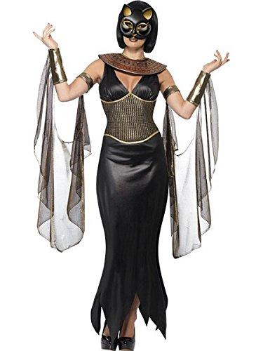 [Bastet the Cat Goddess Costume - Large - Dress Size 14-16] (Easy Goddess Costume)