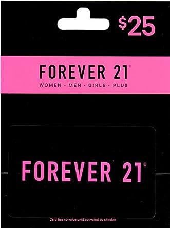 Amazon.com: Tarjeta de regalo Forever 21: Tarjetas de regalo
