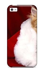 AnnaSanders SKMeXSF7717RgoKL Case Cover Iphone 5c Protective Case Christmas Holiday Christmas
