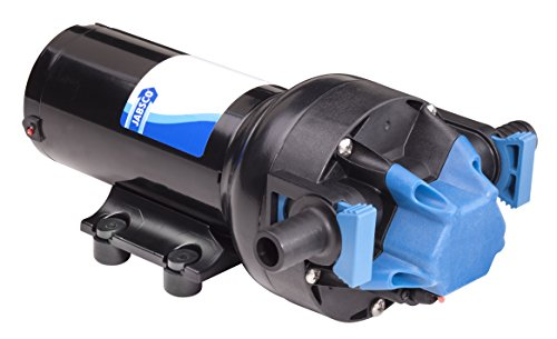 Jabsco 82600-0092 Par-Max Plus Water Pressure System Pump, 12 Volt, 6 Gallon Per Minute, Cut Out 60 PSI