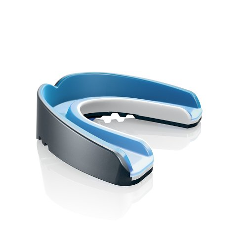 Shock Doctor Nano 3D Convertible Mouthguard (Pearl Carbon, Adult)