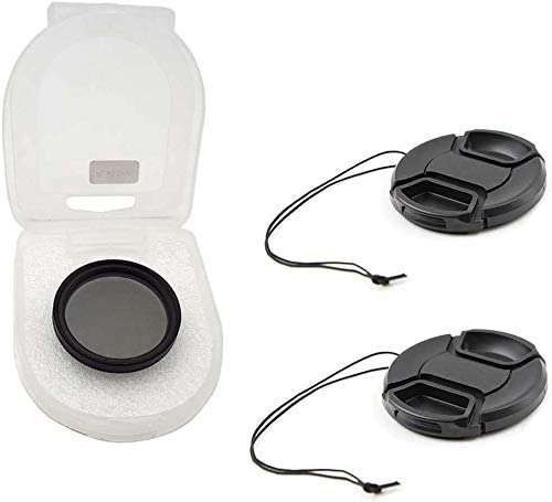 for Sony HDR-CX760V CPL Microfiber Cleaning Cloth 52mm Circular Polarizer Multicoated Glass Filter