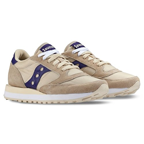ZAPATOS SAUCONY JAZZ M. CREAM/PURP T06 Cream/Purple