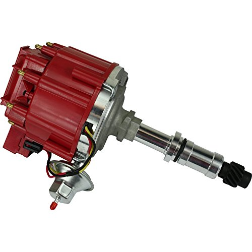 (Dragon Fire High Performance Race Series Complete HEI Electronic Ignition Distributor Compatible Replacement For Buick Big Block 340 350 400 430 455 Oem Fit)