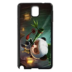 Samsung Galaxy Note 3 Cell Phone Case Black League of Legends Panda Teemo Wfko
