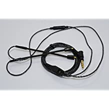 YunYiYi Replacement Upgrade Cable Remote Control Mic for Shure SE 215 315 535 SE846 SE425 UE900