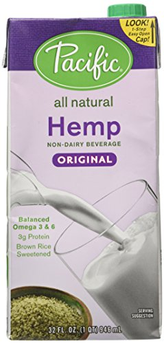 PACIFIC FOODS MILK HEMP ORIG, 32 OZ