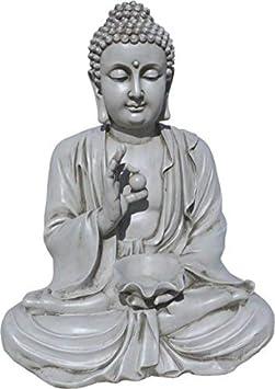 AnaParra Estatua Buda Prosperidad Figura Decorativa para Jardín o ...