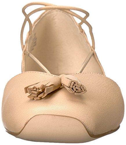 Ballet Flat West Nine Light Leather Natural Women's Zaina wgIHqxz4